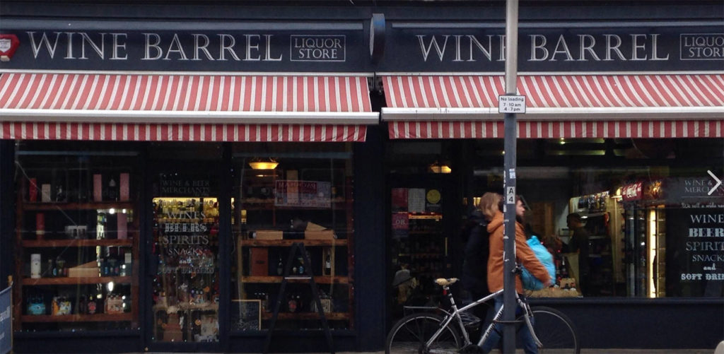 wine barrel hove shop photo