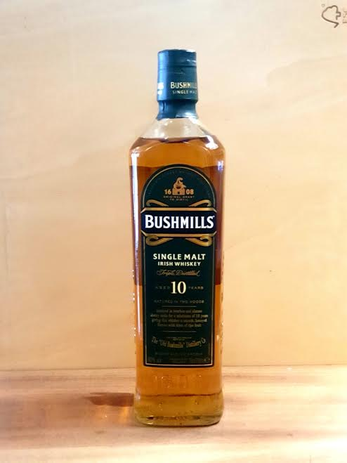 Bushmills – Single Malt Irish Whiskey 10yo