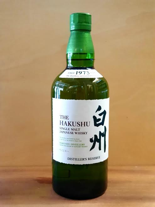 The Hakushu – Single Malt Japanese Whisky