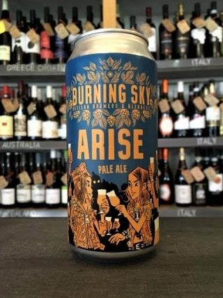 Burning Sky Arise – Pale Ale