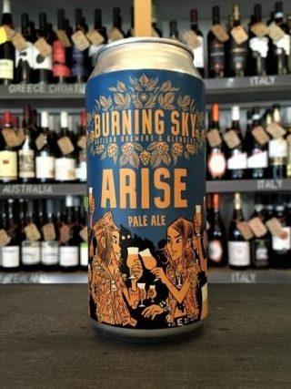 Burning Sky – Arise