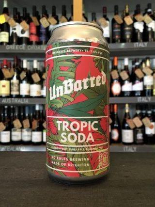Unbarred Tropic Soda – Pale Ale
