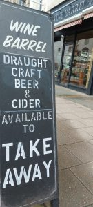 Draught Beer and Cider to take away